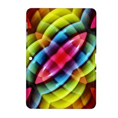 Multicolored Abstract Pattern Print Samsung Galaxy Tab 2 (10 1 ) P5100 Hardshell Case