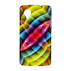 Multicolored Abstract Pattern Print Google Nexus 5 Hardshell Case