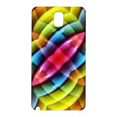 Multicolored Abstract Pattern Print Samsung Galaxy Note 3 N9005 Hardshell Back Case