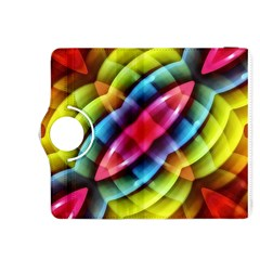 Multicolored Abstract Pattern Print Kindle Fire HDX 8.9  Flip 360 Case