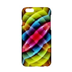 Multicolored Abstract Pattern Print Apple iPhone 6 Hardshell Case