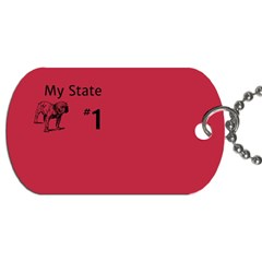 State Champ  Dog Tag (two Sided)