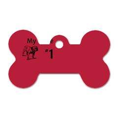 State Champ  Dog Tag Bone (two Sided)