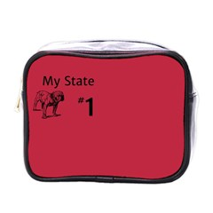 State Champ  Mini Travel Toiletry Bag (one Side)
