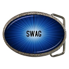 Swag Belt Buckle (Oval)