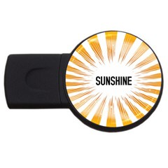 Sun 4gb Usb Flash Drive (round)