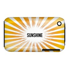 Sun Apple Iphone 3g/3gs Hardshell Case (pc+silicone)