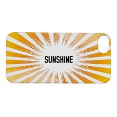 Sun Apple Iphone 5s Hardshell Case