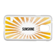 Sun Samsung Galaxy S5 Case (White)