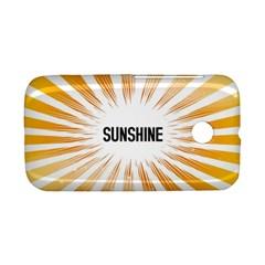 Sun Motorola Moto E Hardshell Case