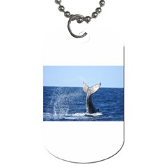 Humpback Whale Tail 2 Dog Tag (two Sided)