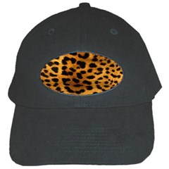 Leopardprint Black Baseball Cap