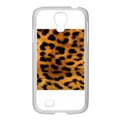 Leopardprint Samsung GALAXY S4 I9500/ I9505 Case (White)