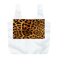 Leopardprint Reusable Bag (L)