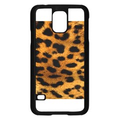Leopardprint Samsung Galaxy S5 Case (black)