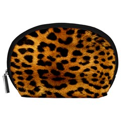 Leopardprint Accessory Pouch (Large)