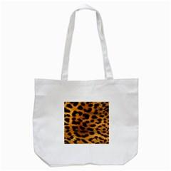 Leopardprint Tote Bag (White)