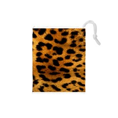 Leopardprint Drawstring Pouch (Small)