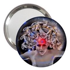 Medusa 3  Handbag Mirror