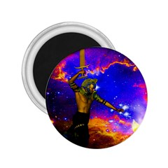 Star Fighter 2 25  Button Magnet