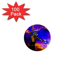 Star Fighter 1  Mini Button (100 Pack)