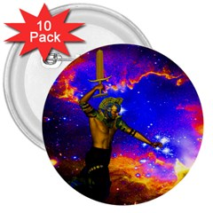 Star Fighter 3  Button (10 Pack)