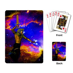Star Fighter Playing Cards Single Design