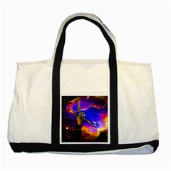 Star Fighter Two Toned Tote Bag