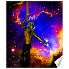 Star Fighter Canvas 20  x 24  (Unframed)