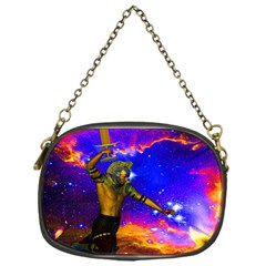 Star Fighter Chain Purse (one Side)