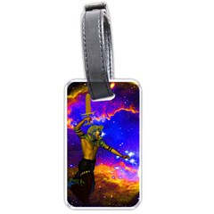 Star Fighter Luggage Tag (one Side)