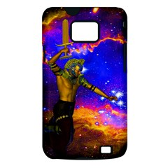 Star Fighter Samsung Galaxy S II i9100 Hardshell Case (PC+Silicone)