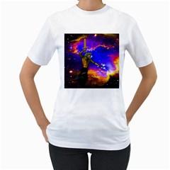 Star Fighter Women s T-Shirt (White)