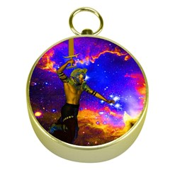Star Fighter Gold Compass