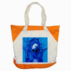 Alien Blue Accent Tote Bag