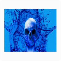Alien Blue Glasses Cloth (Small, Two Sided)