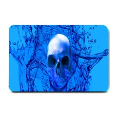 Alien Blue Small Door Mat