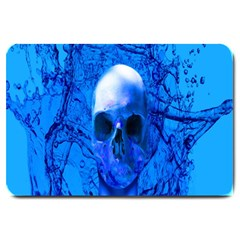 Alien Blue Large Door Mat