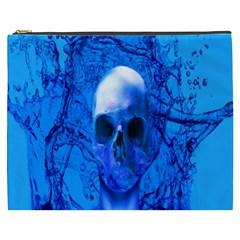 Alien Blue Cosmetic Bag (xxxl)