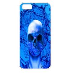 Alien Blue Apple iPhone 5 Seamless Case (White)