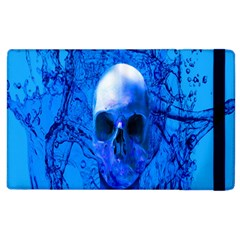 Alien Blue Apple Ipad 2 Flip Case