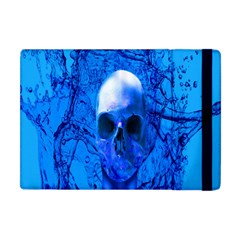 Alien Blue Apple Ipad Mini Flip Case