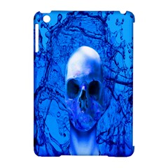 Alien Blue Apple iPad Mini Hardshell Case (Compatible with Smart Cover)