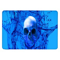 Alien Blue Samsung Galaxy Tab 8.9  P7300 Flip Case