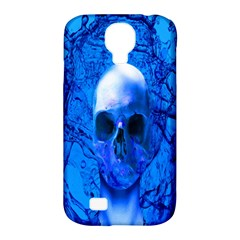 Alien Blue Samsung Galaxy S4 Classic Hardshell Case (pc+silicone)