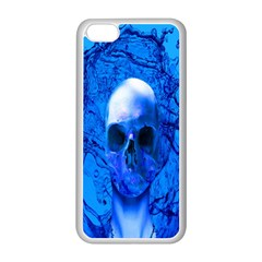 Alien Blue Apple iPhone 5C Seamless Case (White)