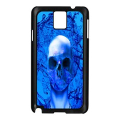Alien Blue Samsung Galaxy Note 3 N9005 Case (Black)