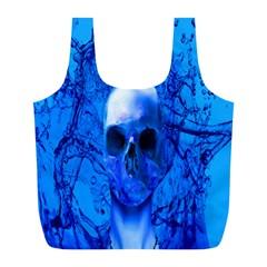 Alien Blue Reusable Bag (l)