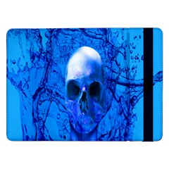 Alien Blue Samsung Galaxy Tab Pro 12 2  Flip Case