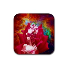 Star Flower Drink Coasters 4 Pack (square)